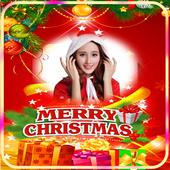 Merry Christmas Photo Frame 2018 icon