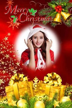 Merry Christmas Photo Frame 2018 poster
