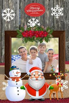 Christmas Photo Frame 2018 poster