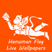 Hanuman Flag Live Wallpapers icon