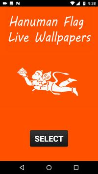 Hanuman Flag Live Wallpapers poster