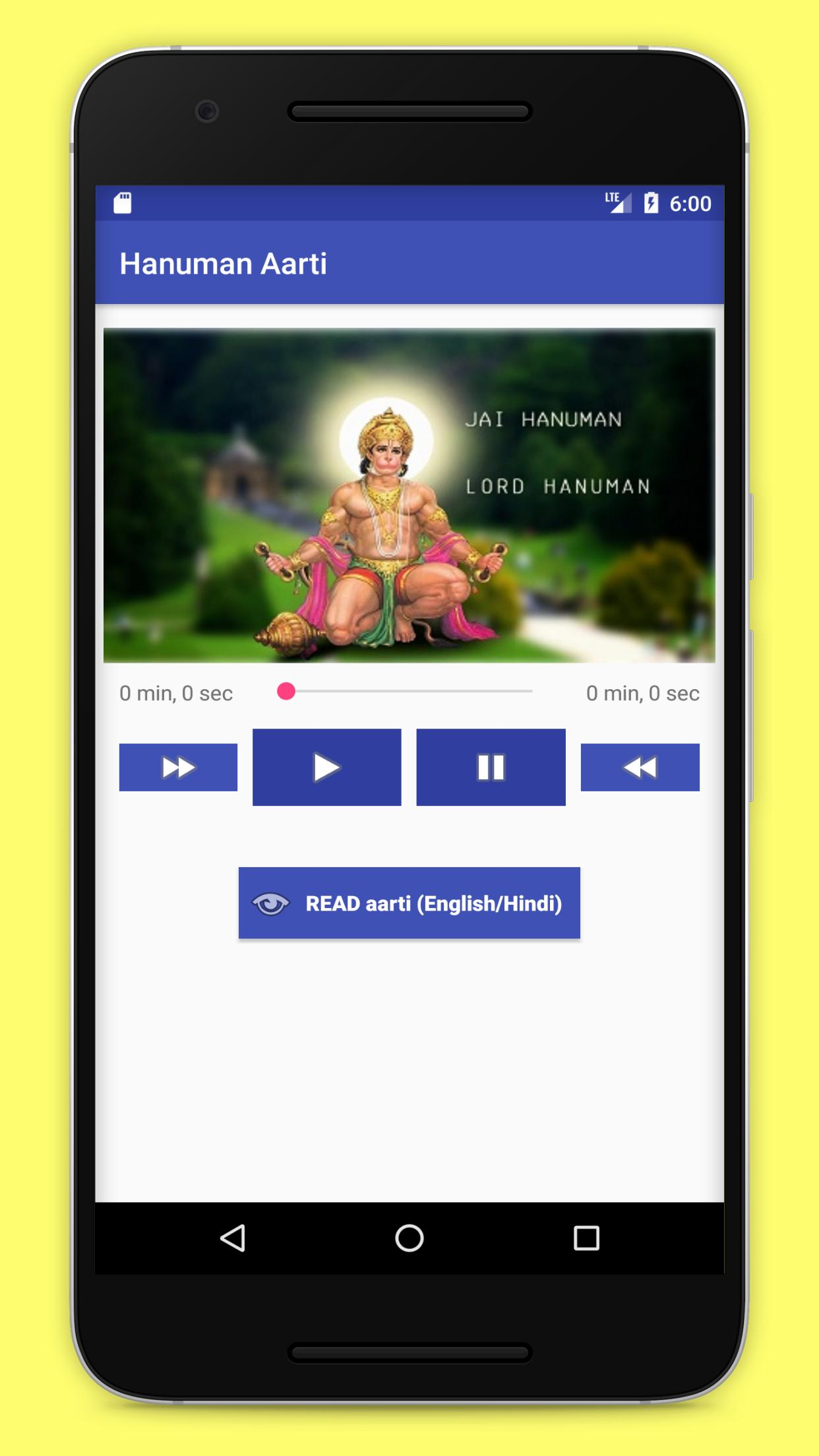 Hanuman Chalisa and Aarti for Android - APK Download