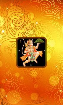 Hanuman Clock Live Wallpaper poster