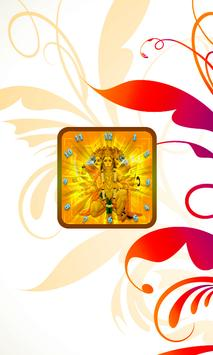Hanuman Clock Live Wallpaper screenshot 4
