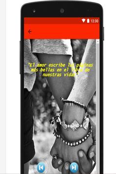 Palabras de enamorados apk screenshot