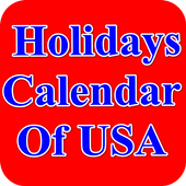 USA Holidays Story & Calendar icon