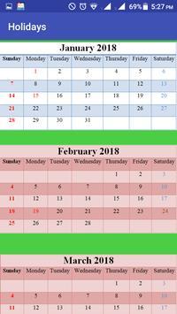 USA Holidays Story & Calendar screenshot 3