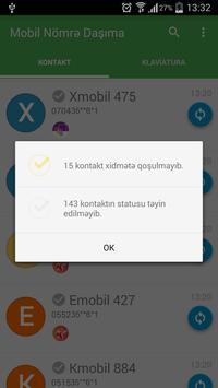 Mobil Nömrə Daşıma apk screenshot