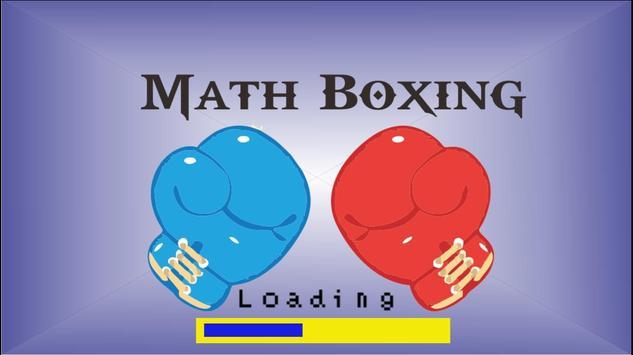 Math Boxing poster