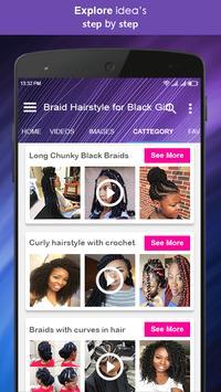 Braid Hairstyle for Black Girl screenshot 3