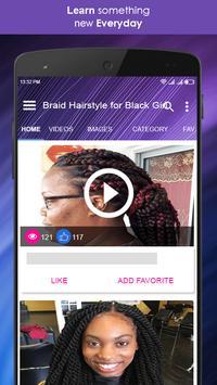 Braid Hairstyle for Black Girl screenshot 1