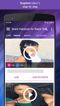 Braid Hairstyle for Black Girl screenshot 2