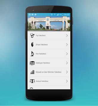 Akdeniz Üniversitesi Mobil apk screenshot