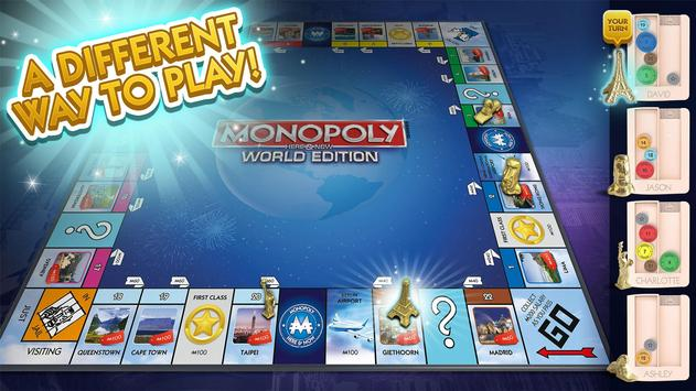 MONOPOLY HERE & NOW poster