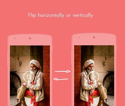 Video rotate, flip and save apk screenshot