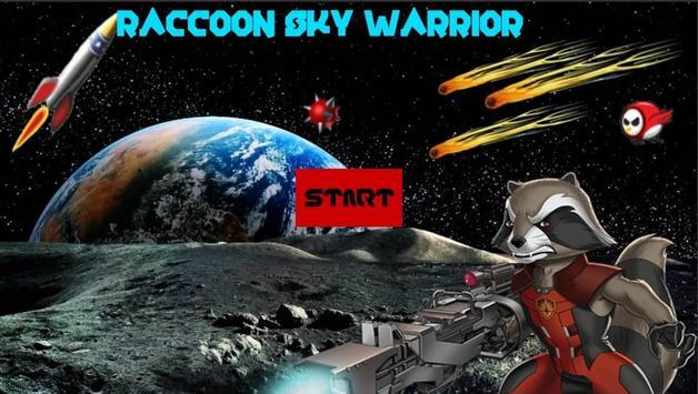 Raccoon Sky Warrior screenshot 1
