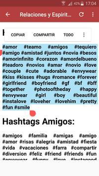 Hashtags para más Likes y Seguidores screenshot 3