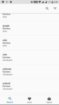 Job Hunt | Internship Search apk screenshot