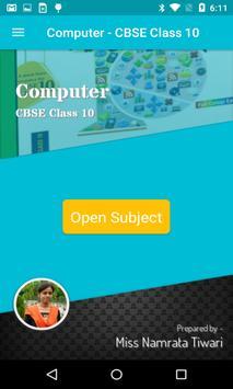 Computer - CBSE Class 10 poster