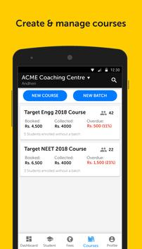 HashLearn360 for Admin of Coaching Centres screenshot 1