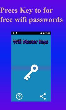 Wifi Password key screenshot 1
