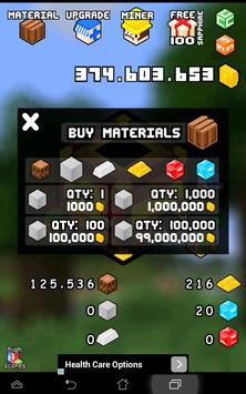 ClickCraft - Tap to Mine screenshot 3