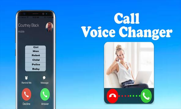 Calling Voice Changer poster