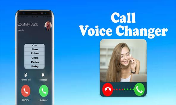 Voice Changer Calls poster