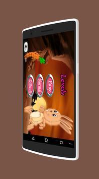 Happy Bunny Adventure Free2 apk screenshot
