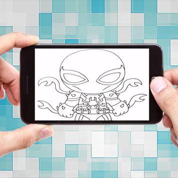 How To Draw Spiderman Homecoming screenshot 5