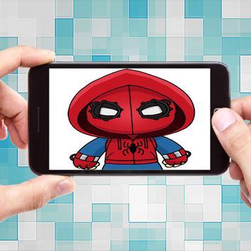 How To Draw Spiderman Homecoming screenshot 9