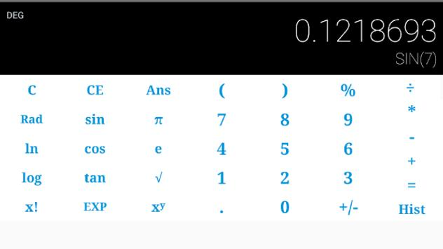 Scientific Calculator Plus apk screenshot