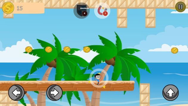 Nobita Beach Run - 2016 apk screenshot