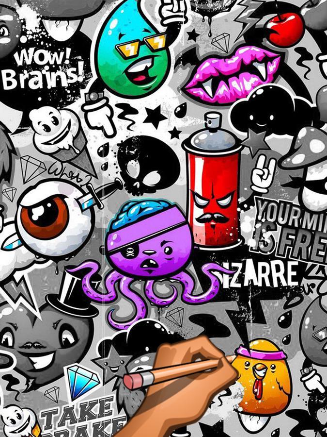 Graffiti Creator Coloring Book for Android - APK Download