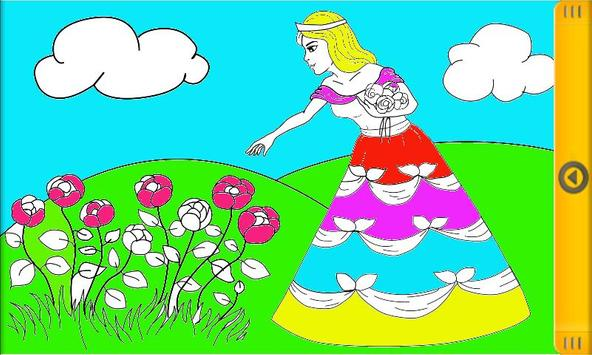 Happy Princess Coloring Book Apk Screenshot