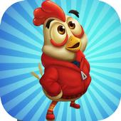 Happy Run Chicken icon