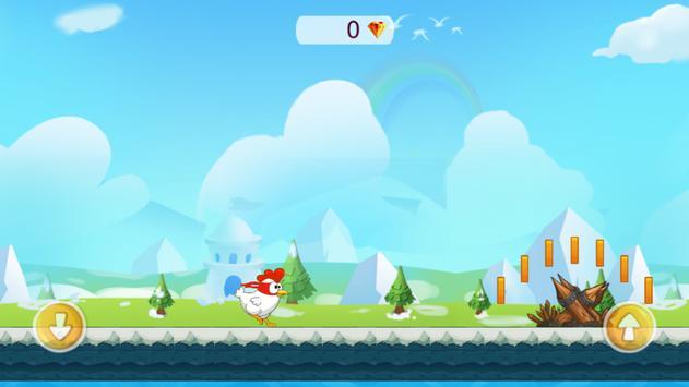 Happy Run Chicken screenshot 4