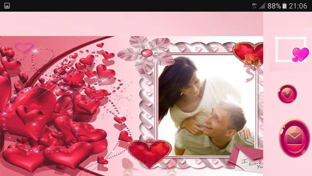 Valentine Photo Farmes apk screenshot