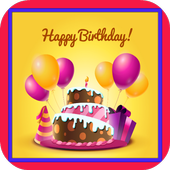 Free Birthday Wishes Frames icon
