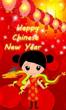 Chinese New Year Wallpaper poster