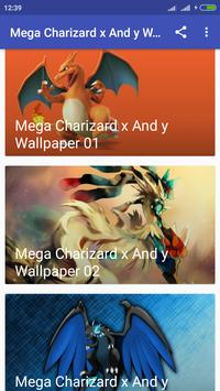 Mega Charizard X And Y Wallpaper Screenshot 3