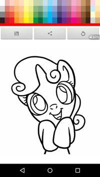 Paint Little horse apk screenshot