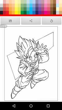 Paint Super Saiyan for kid screenshot 3