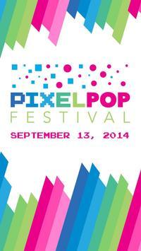 PixelPop Festival poster