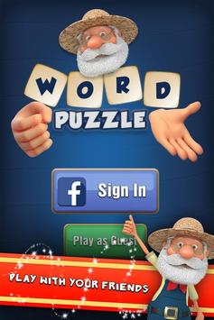 Fun Cookies Word: Connect Cross Word Puzzle Game screenshot 1