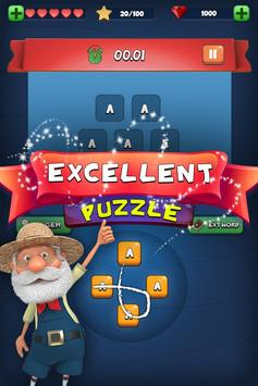Fun Cookies Word: Connect Cross Word Puzzle Game screenshot 2