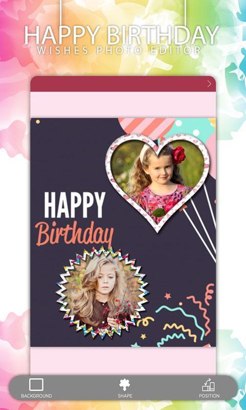 Happy Birthday Wishes Photo Editor Screenshot 10