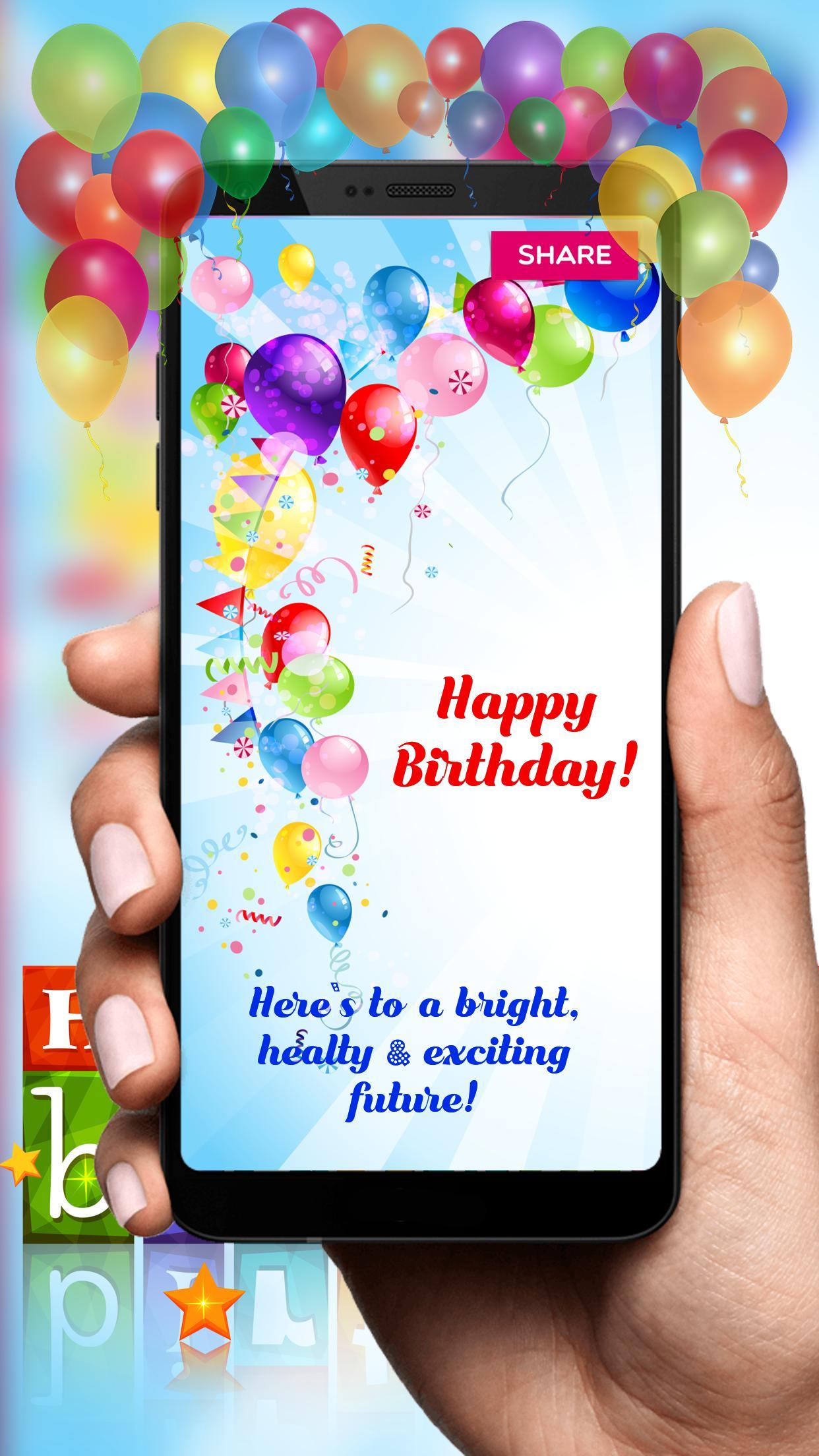 Selamat Ulang Tahun Kartu Kartu Ucapan For Android APK