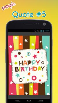Happy Birthday Quotes apk screenshot