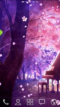 Sakura Falling Live Wallpaper poster